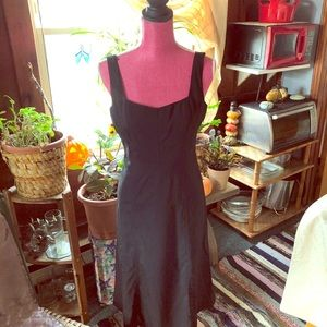 J .CREW 👗black vintage dress👠collection
